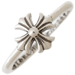 Chrome Hearts 925 Sterling Silver Bubble Gum Ring Size 5