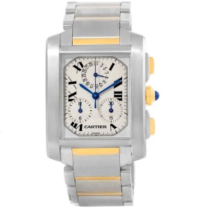 Cartier Tank Francaise W51004Q4 28mm Mens Watch