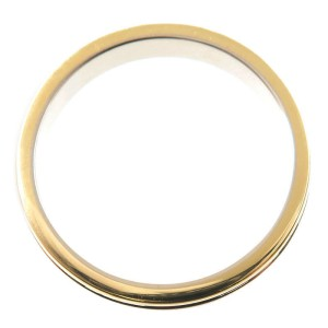 Cartier Three Color Ring 18K White, Rose and Yellow Gold Size 9