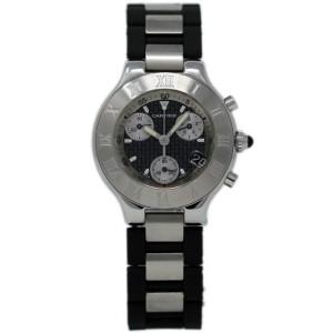 Cartier Must 21 W10125U2 38mm Mens Watch