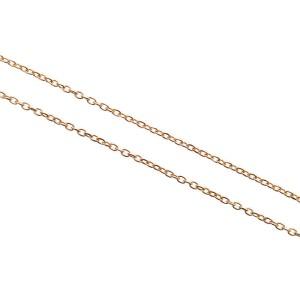 Ponte Vecchio Solomio 18K Rose Gold with 0.13ctw Diamond Initial K Pendant Necklace