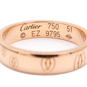 Cartier Happy Birthday Ring 18K Rose Gold Size 6