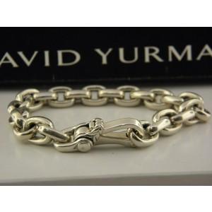 David Yurman Chain Sterling Silver Bracelet