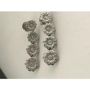 Tiffany & Co. PLATINUM Platinum Diamond Earrings