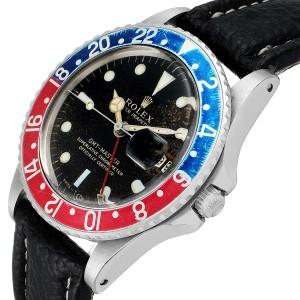 Rolex GMT Master Vintage Red and Blue Pepsi Bezel Mens Watch