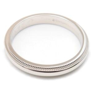 Tiffany & Co. Platinum Ring Size 7