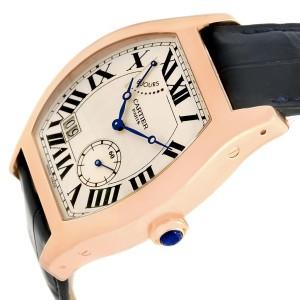 Cartier Tortue Privee W1545851 38mm Mens Watch