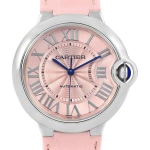 Cartier Ballon Blue WSBB0007 36mm Womens Watch