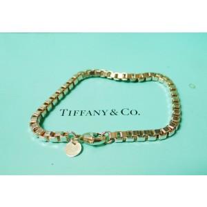 """Tiffany & Co Sterling Silver Venetian Link Bracelet 7.5"""""""
