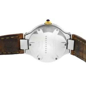 Ladies Cartier Must de Cartier 21 Quartz Steel Gold 28MM Watch