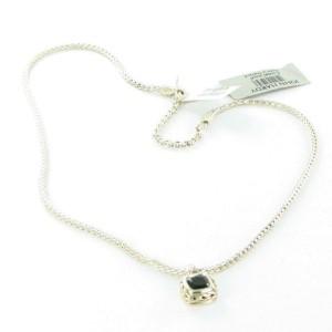 John Hardy Classic Chain Classic Chain Magic Cut Pendant Necklace Onyx Sterling