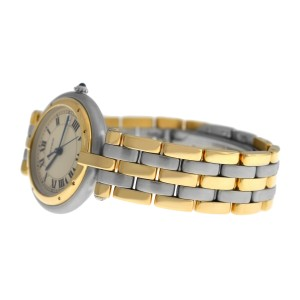 Ladies Cartier Panthere Vendome 183964 Three Row Gold Steel Quartz 30MM Watch