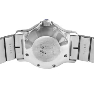 Unisex 30mm Cartier Santos Octagon Steel 18K Yellow Gold Automatic Watch