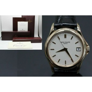 Patek Philippe 5127R Calatrava 18K Rose Gold Box and Papers