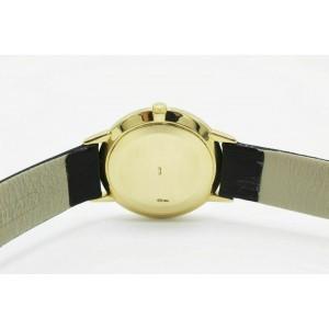 Patek Philippe Calatrava 3893J 18K Yellow Gold Leather Strap