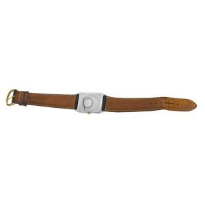 New Unisex Longines XL18 Gold Plaque Steel Diamond Quartz 26mm x 29mm Watch