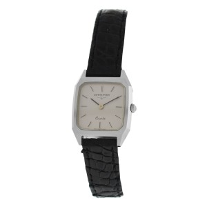 New Ladies' Longines XL18 Stainless Steel Quartz 20mm Watch