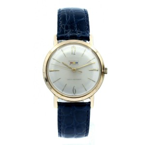 BENRUS 21 Jewels Rose Gold Plated Hand Winding Shock Absorber 34mm Vintage Watch