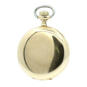 AMAZING Rockford Watch Co Solid 14K Yellow Gold 17J Pocket Watch 90.8 Grams