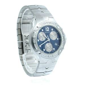 Movado Sports Edition Diamond Chronograph Quartz Watch Ref: 84 C5 1892 S