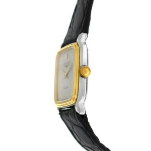 New Ladies' Longines Stainless Steel Gold Plaque Quartz 20mm Watch