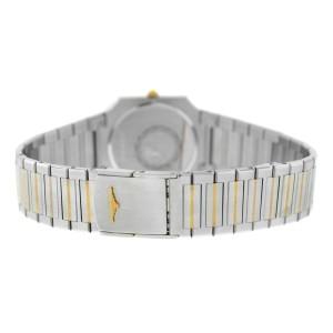 New Unisex Longines Stainless Steel Yellow Gold Quartz 28mm Watch