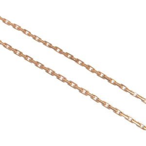 Authentic Cartier Baby Love Diamond Necklace K18 750 Rose Gold PQ8581 Used F/S