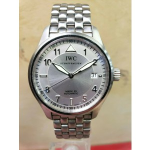 IWC Mark XV Spitfire 39mm Automatic Stainless Steel Date Men's Watch