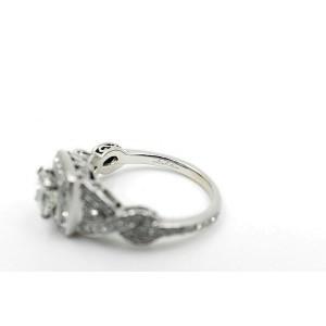 Neil Lane Diamond Engagement Ring Princess 1.38 tcw 14k White Gold $5,600 Retail
