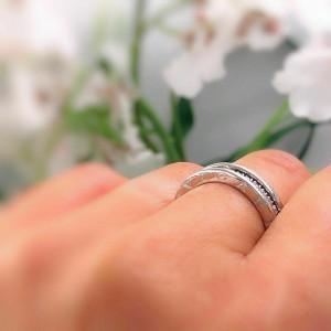 Bvlgari B.Zero 1 Diamond Band Ring 18kt White Gold