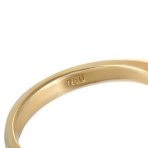 Tiffany & Co. 18K Yellow Gold 0.25ct Ruby & Diamond Rhomb Ring Size 4.5