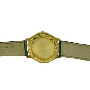 Unisex Baume & Mercier Riviera 87012 18K Yellow Gold Quartz 34MM Watch
