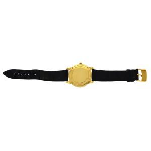 Unisex Tiffany & Co. Mark Round 18K Yellow Gold Date 37MM Quartz Watch
