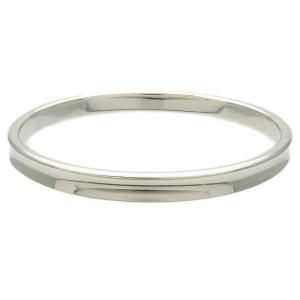 Authentic Tiffany&Co. 1837 Narrow Bangle Bracelet Silver 925 Used F/S