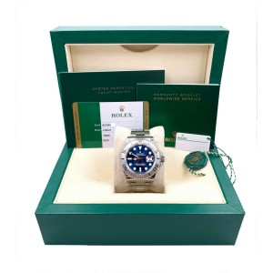 BRAND NEW Rolex Yacht Master 126622 Blue Dial Platinum Stainless Box Paper 2020