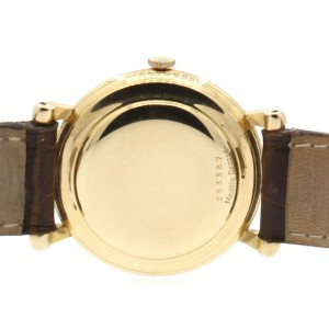 ROLEX REF: 4134 Perpetual Chronometer 18k Rose Gold Wriswatch Circa 1943 RARE!!