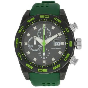 New Locman Men's Stealth Titanium Carbon Ref. 218 Chronograph Quartz 47MM Watch