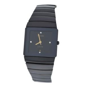Lady's Rado Jubile Diastar 152.0336.3 Diamond  Ceramics Quartz Watch