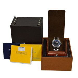 Breitling Aviator 8 Unitime AB3521U41B1A1 Automatic 43MM Stainless Steel Watch