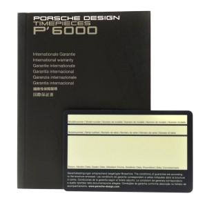 Porsche Design Flat Six P6340 6340.41.43.0251 Men's Chrono Automatic 44MM Watch