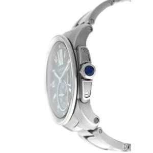 Cartier Calibre de Cartier 3389 W7100016 Mens Steel Date 44MM Watch