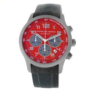 Porsche Design Dashboard Chronograph P6612 6612.10.84.1139 Titanium 42MM Watch