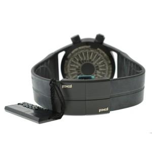 Porsche Design Worldtimer P6750 6750.13.44.1180 PVD Titanium 45MM Watch