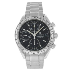 Omega Speedmaster 3513.50 Automatic 39MM Mens Steel Chronograph Watch