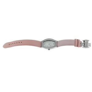 Tourneau Rectangle 12006-T03 Ladies Diamond MOP Steel 26MM Quartz Watch