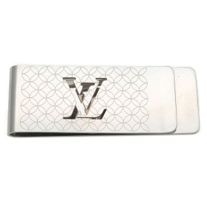 Auth Louis Vuitton Pince Billets Champs-Élysées Money Clip M65041 Used F/S