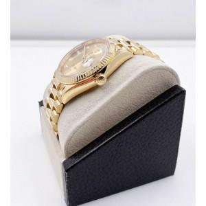 Rolex President Day Date 128238 18K Yellow Gold Original Diamond Dial