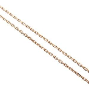 Authentic Cartier Baby Trinity 1P Diamond Necklace K18 750 YG/WG/PG Used F/S