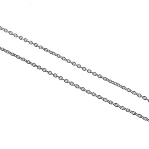 Authentic Tiffany&Co. By the Yard 1P Diamond Necklace 0.03ct Silver 925 Used F/S