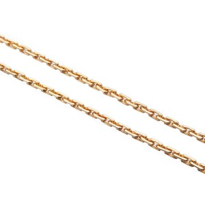 Authentic Cartier Baby Love Diamond Necklace K18 750 Rose Gold BRZ045 Used F/S
